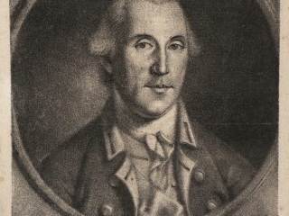 George Washington mezzotint by Charles Willson Peale, 1788