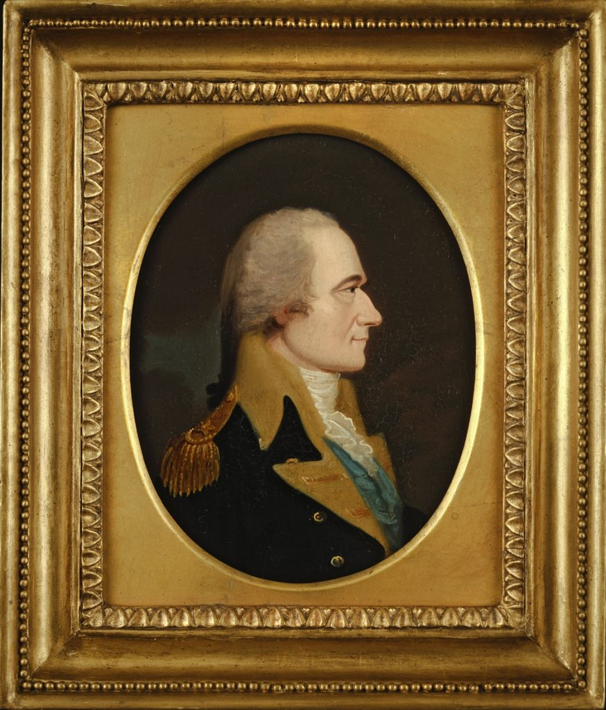Alexander Hamilton by William J. Weaver, ca. 1806
