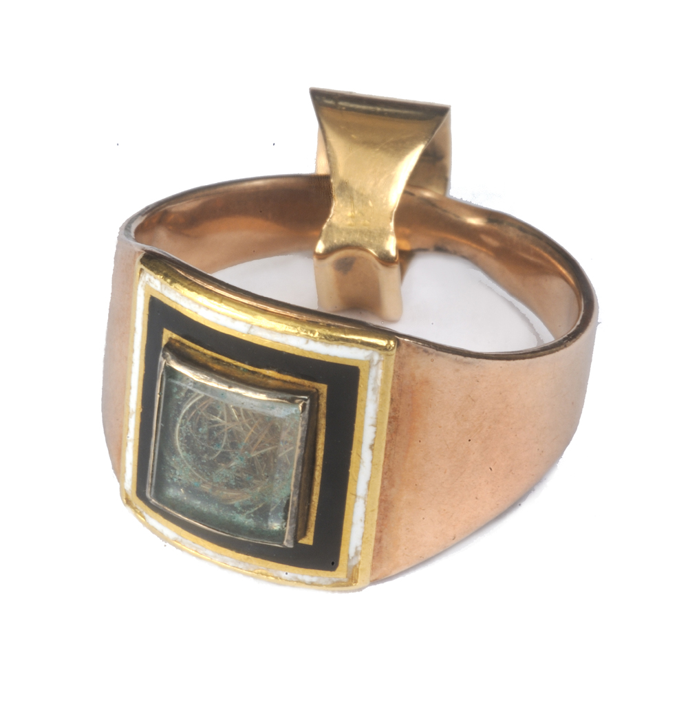 Mourning ring, ca. 1804