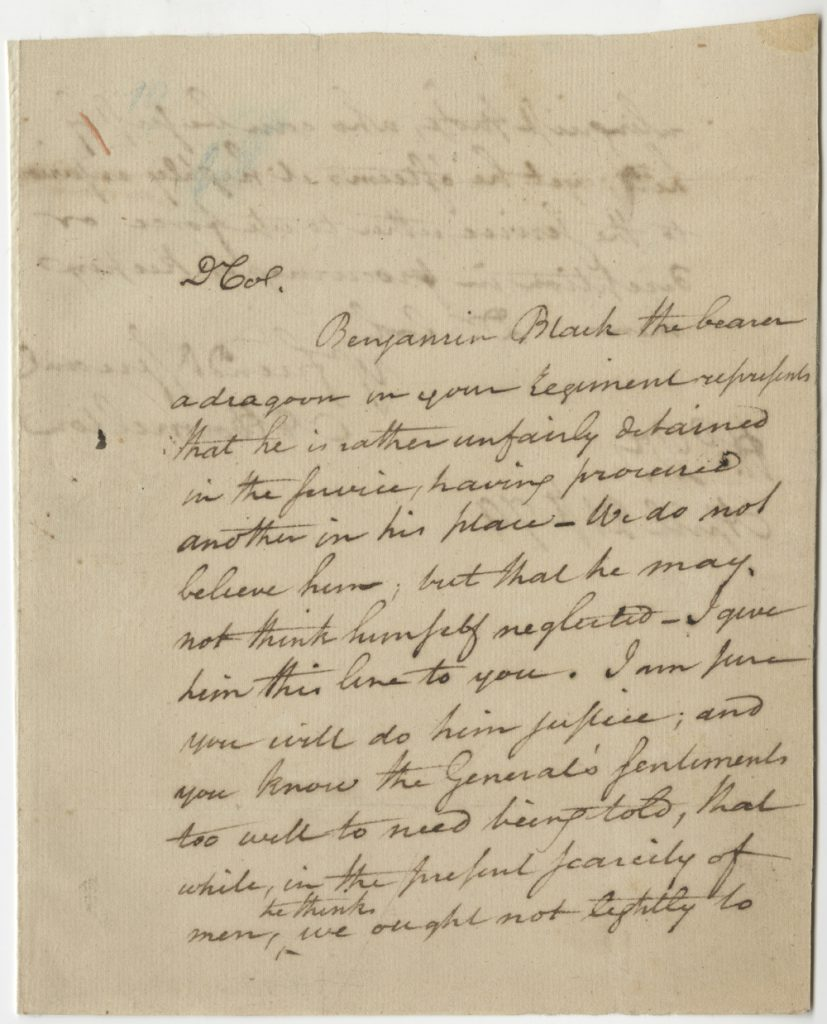 Alexander Hamilton to Stephen Moylan, April 21, 1779