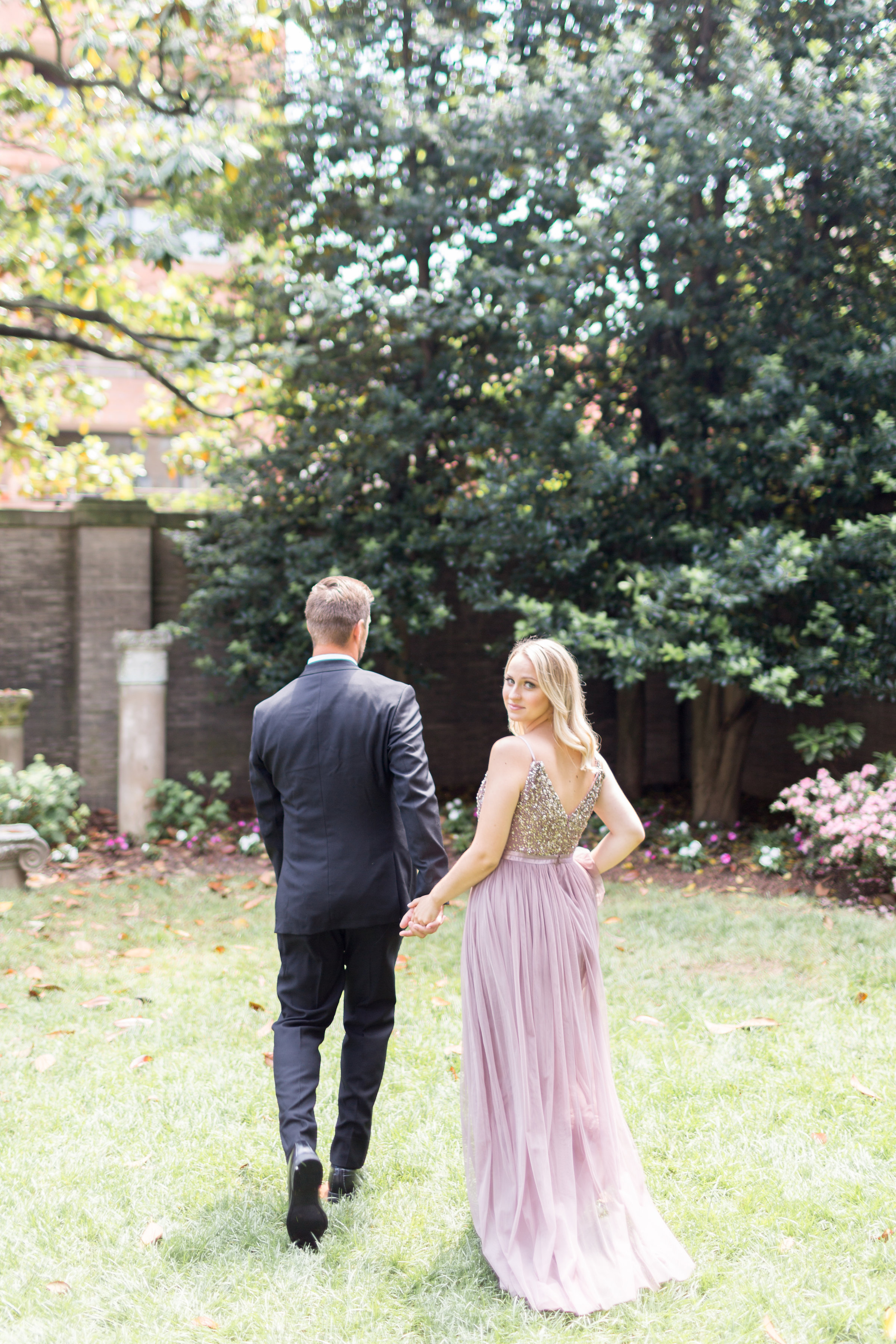 <h2>Sun dappled stroll</h2>Photo by Kir Tuben. Sincerely Pete Events, planner.
