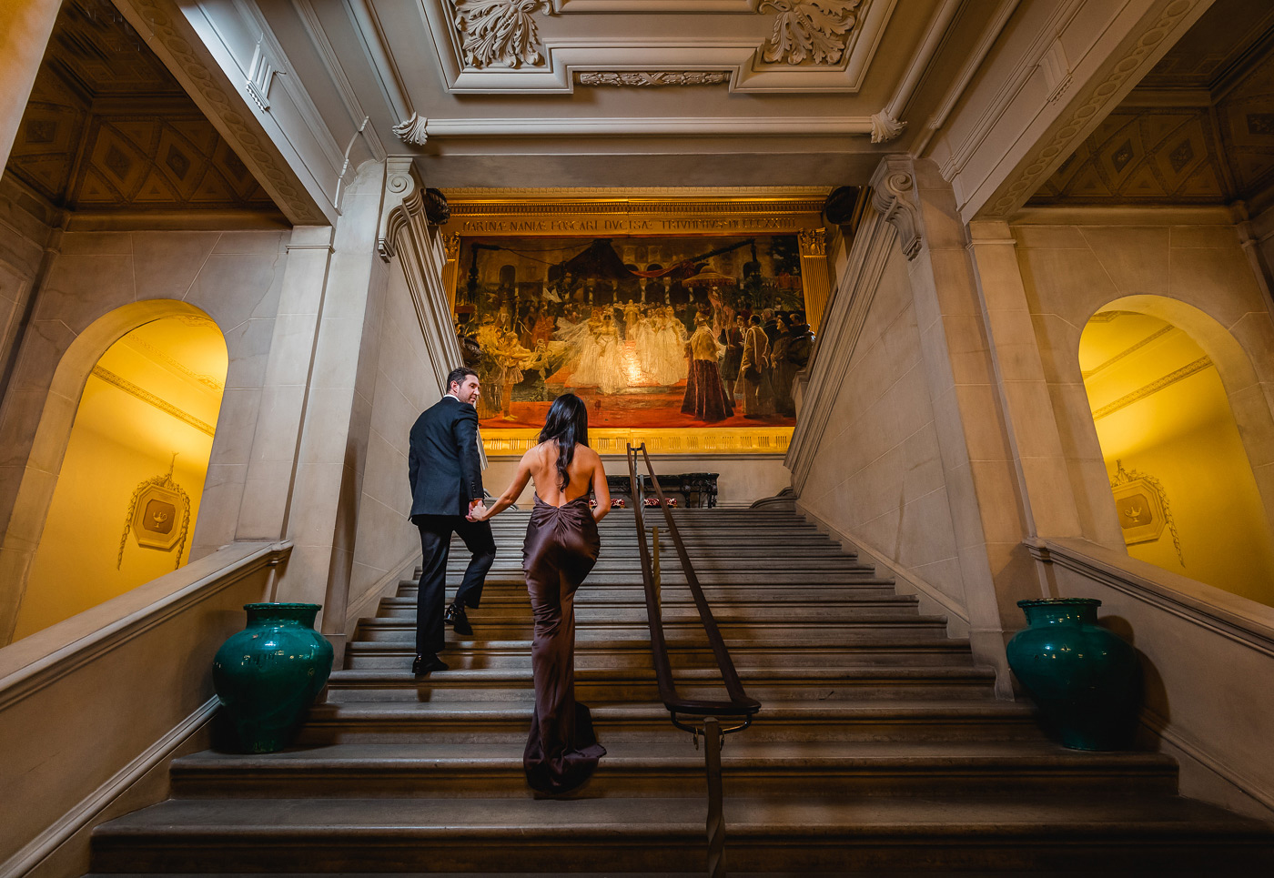 <h2>Stunning view up the Great Staircase</h2>Photo by Jeff Simpson.