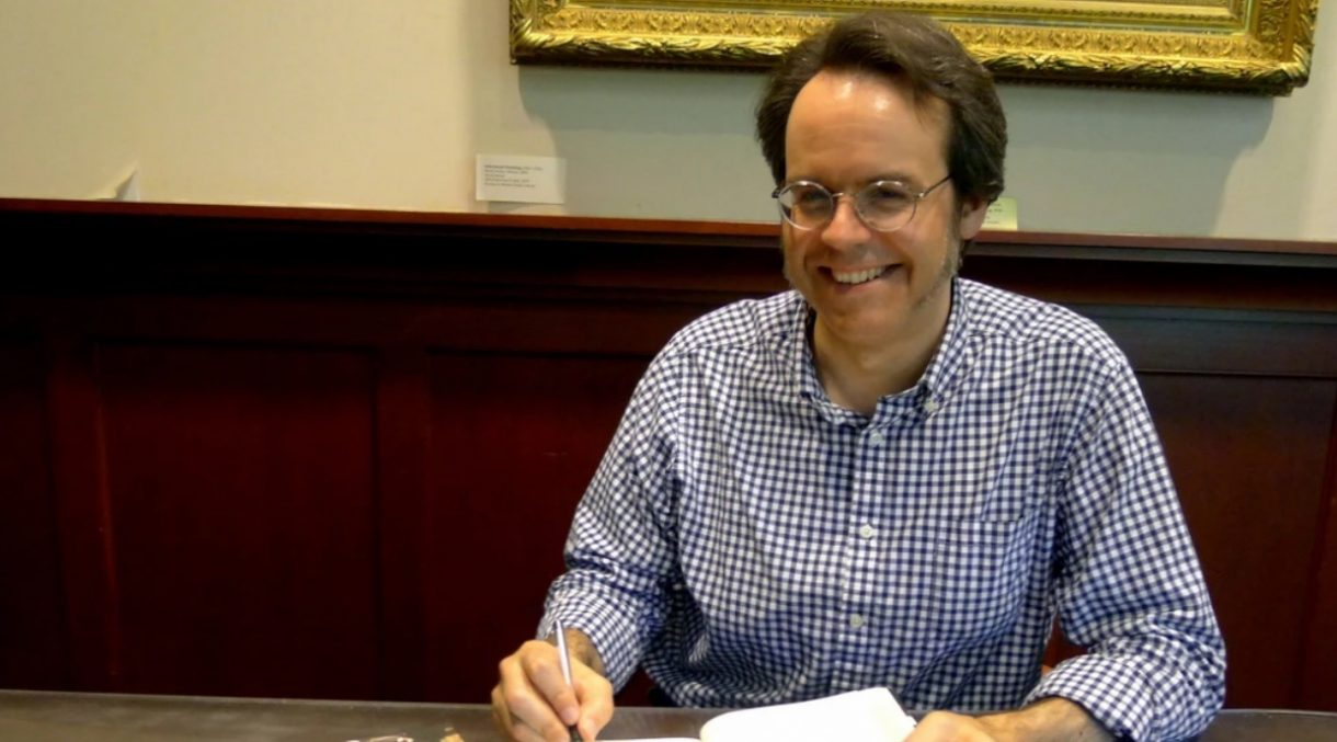 J.L. Bell discussed his research on the British march on Concord at the American Revolution Institute.