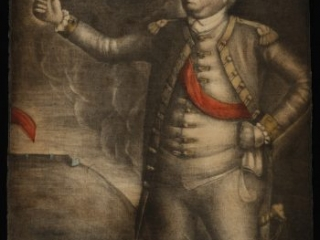 The Honble. Israel Putnam Esqr. Major General of the United Forces of America, Benjamin Blyth, Salem, [Mass.]: Printed by Jos. Hiller, [ca. 1775]