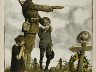 America Owes France the Most Unalterable Gratitude, Lucien Jonas, Paris: Imp. H. Chachoin, [1918]