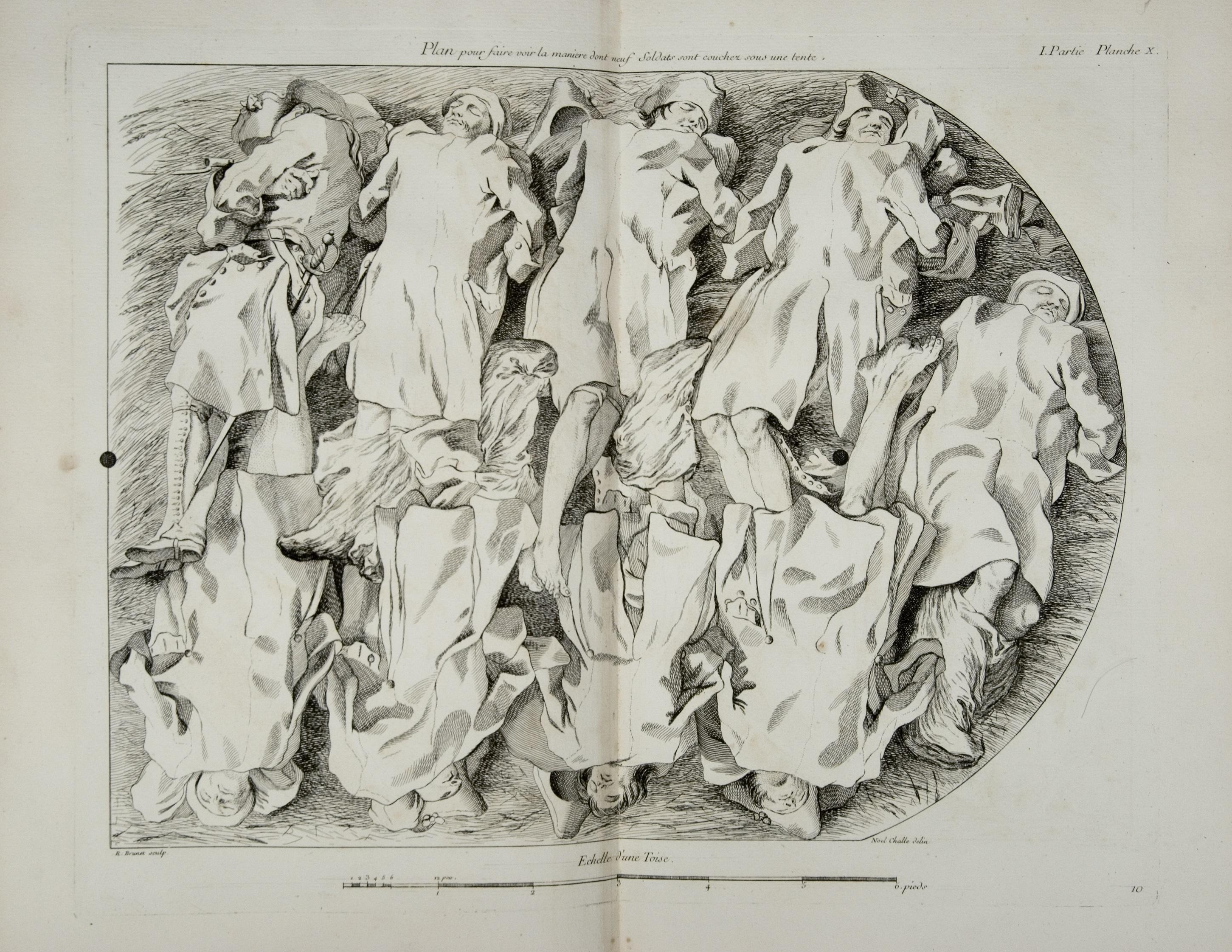 Art de la Guerre par Principes et par Règles, Jacques François Maxime de Chastenet, marquis de Puységur, Paris: Chez Charles-Antoine Jombert, 1748