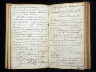 Headquarters orderly book, Coxheath Camp, Maidstone, England, June-August 1778