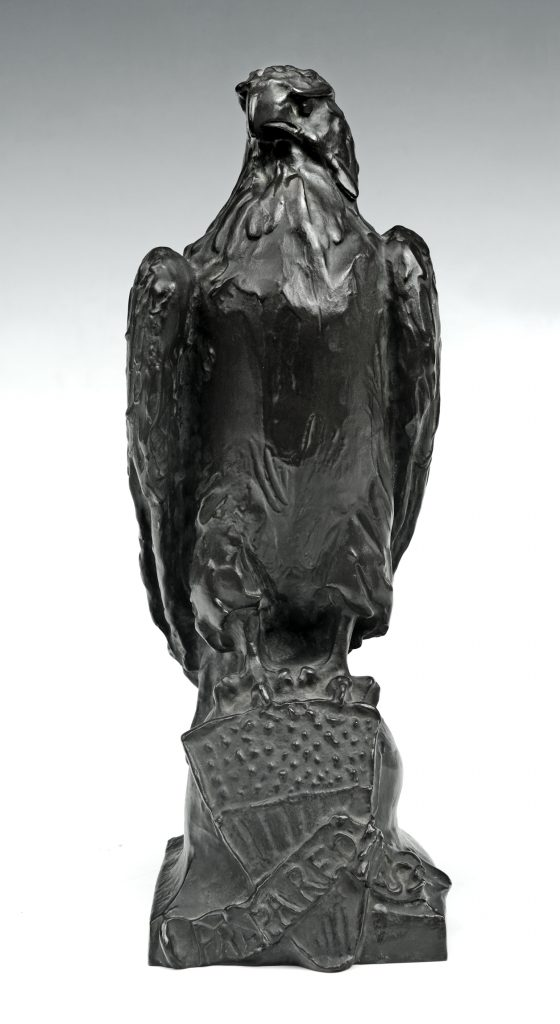 Eagle of Preparedness, Paul Wayland Bartlett (1865-1925), Cast by the Griffoul Foundry, Newark, N.J., 1916