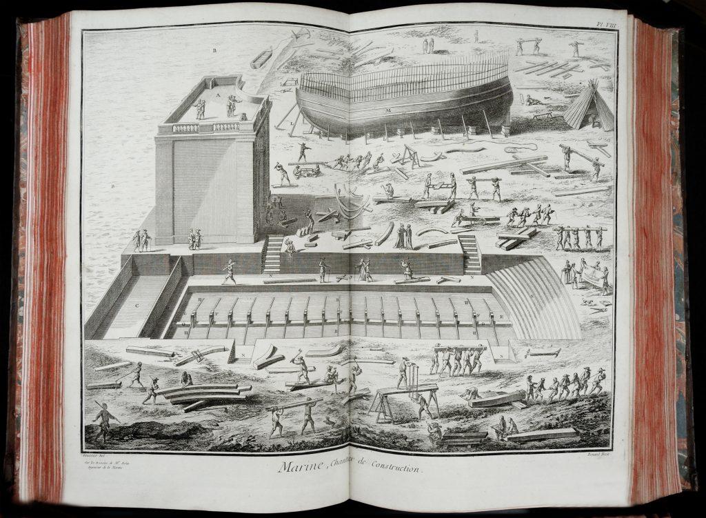 Encyclopédie, ou Dictionnaire Raisonné des Sciences, des Arts et des Métiers, Denis Diderot and Jean Le Rond d'Alembert, Paris: Chez Briasson, 1751-1765