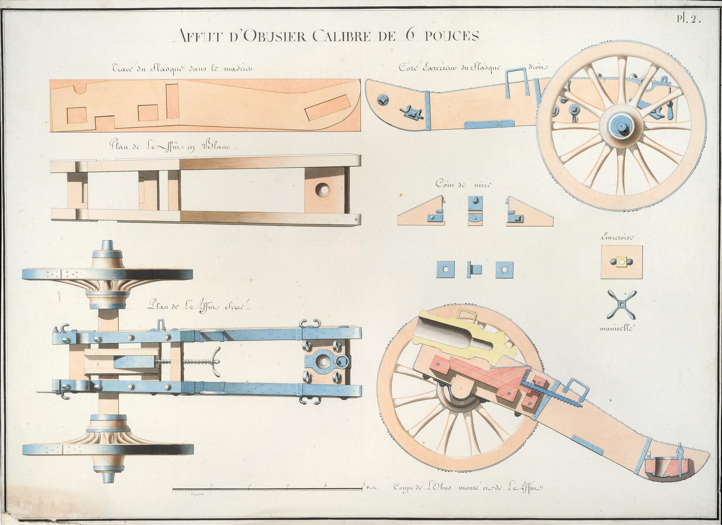 """""""Artillerie dessins,"""" 1762-1792"""