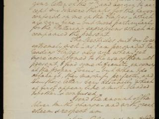 George Washington to David Rittenhouse, February 16, 1783