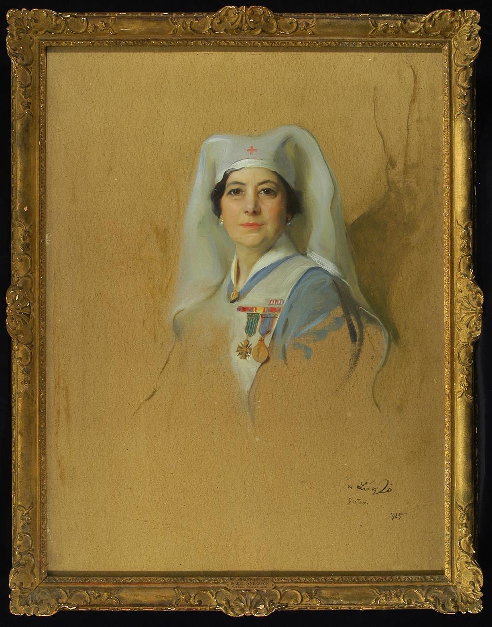 <em>Isabel Anderson</em> by Philip de László, 1925