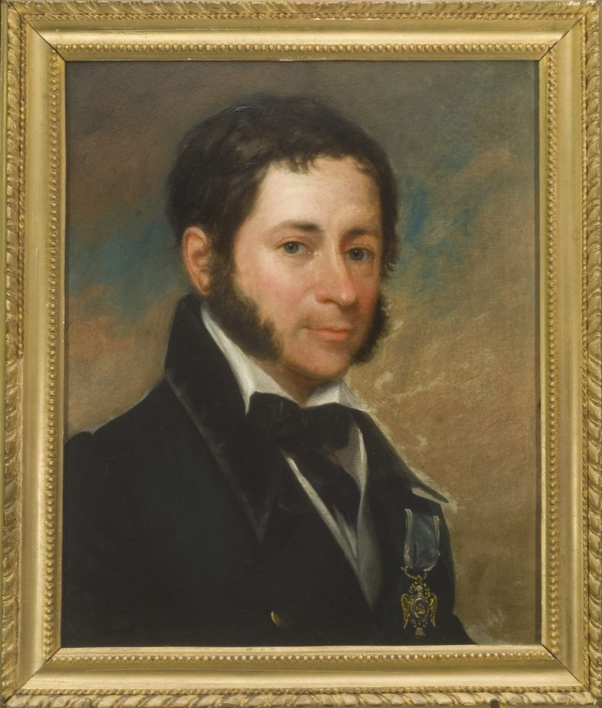 James St. Clair Caldwell, ca. 1826