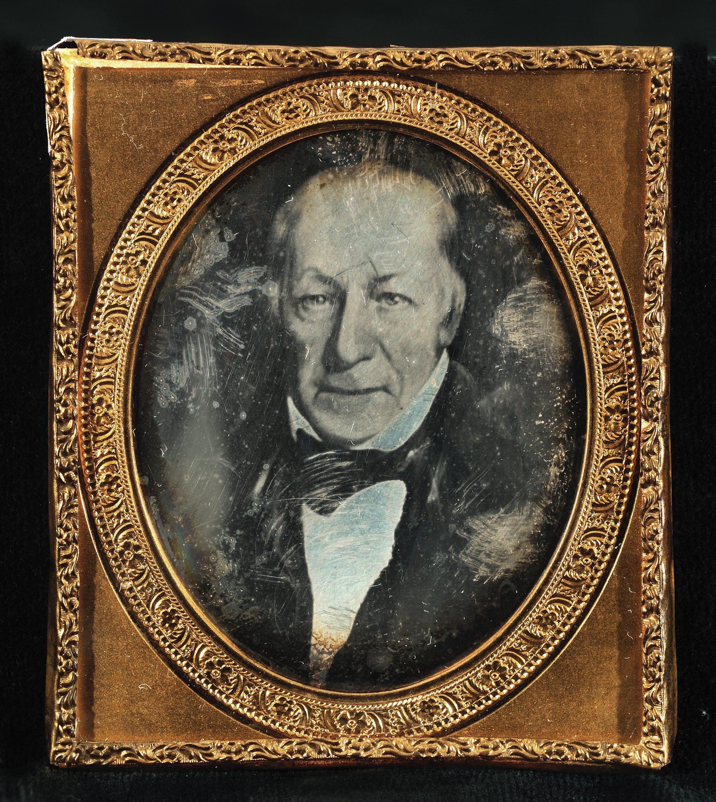 Daguerreotype of John Richard Watrous, American, ca. 1840s
