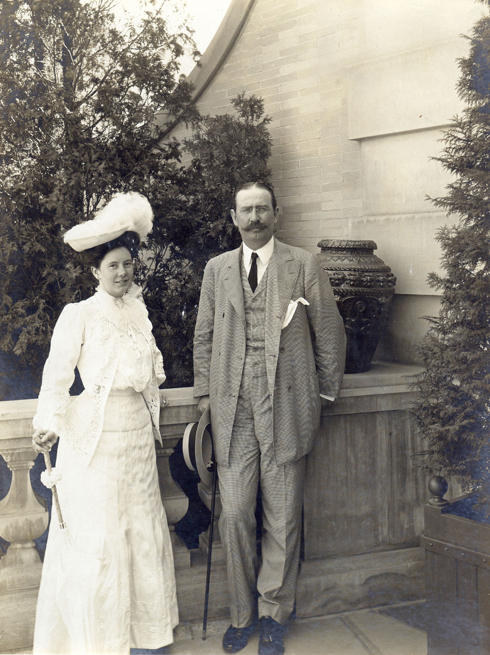Isabel and Larz Anderson by Henry F. Withey, 1905