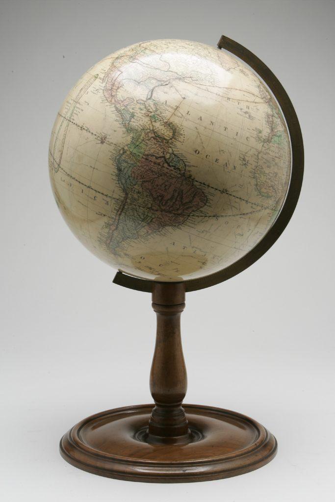 Terrestrial globe made by Gilman Joslin, 1890s
