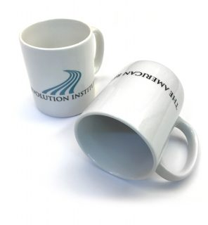 This mug is offered exclusively in the American Revolution Institute Shop.