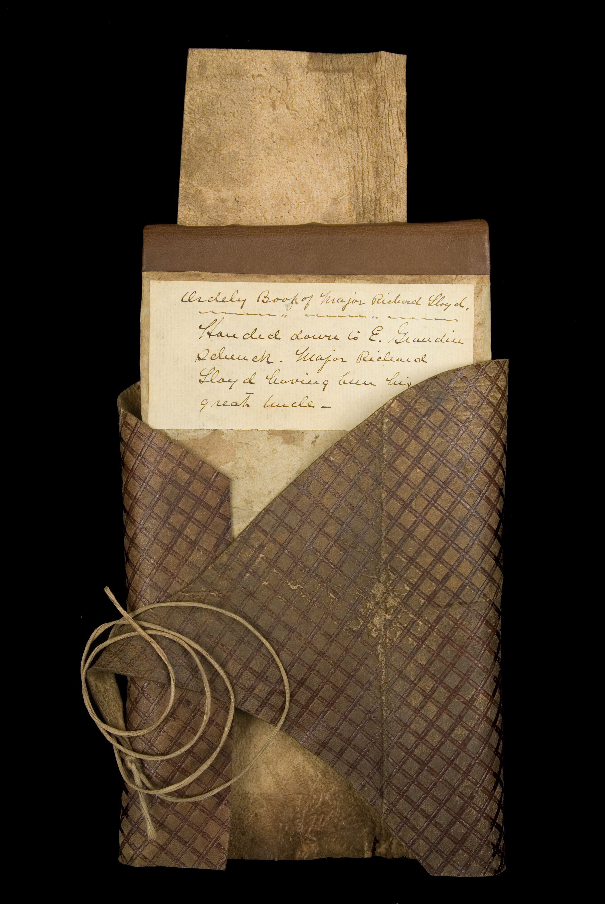 Orderly book of the New Hampshire Brigade kept by Richard Lloyd, Fishkill, West Point, Paramus, Morristown and elsewhere, October 5, 1780-March 5, 1781