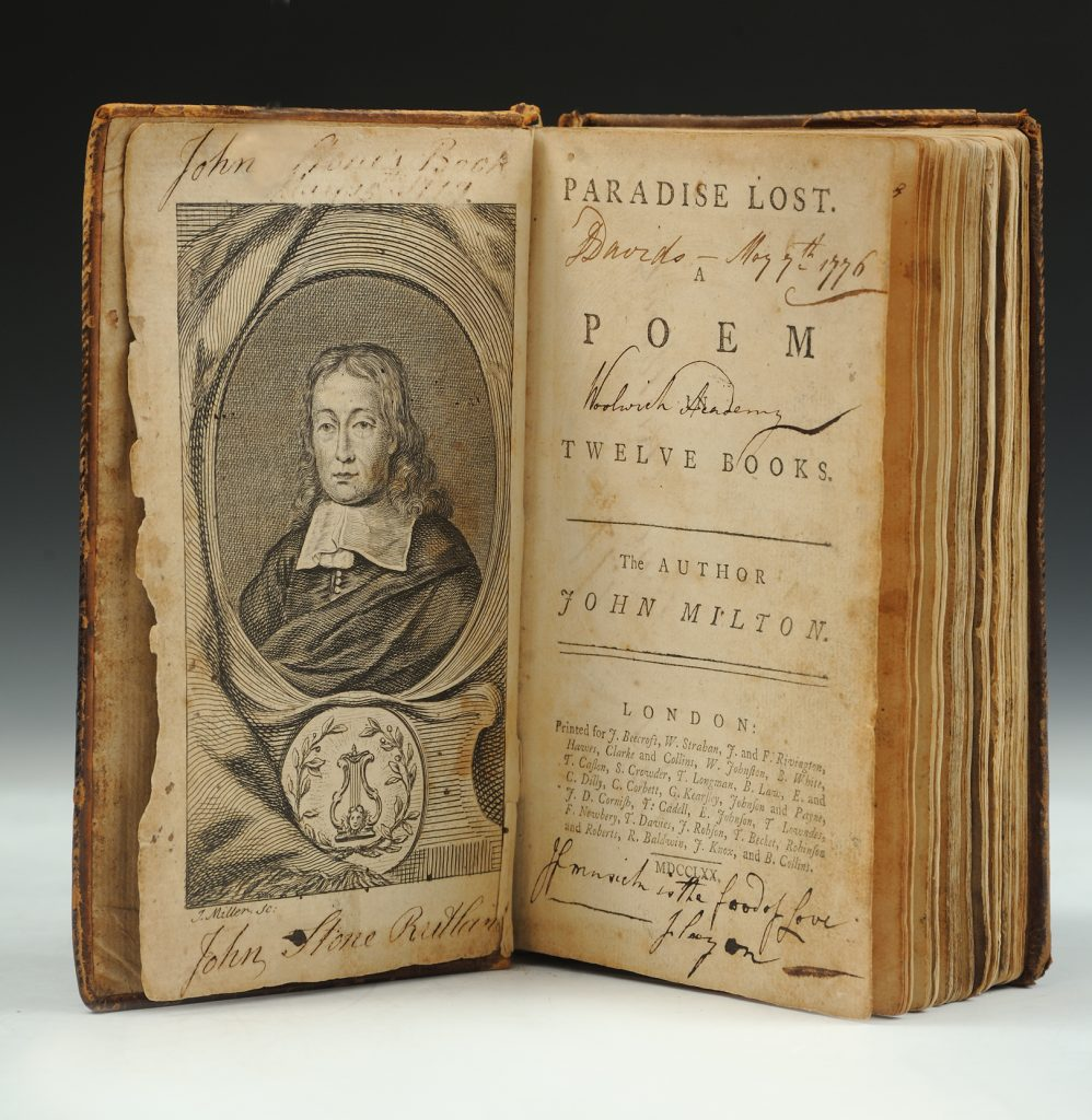 Paradise Lost. A Poem in Twelve Books, John Milton, London: Printed for J. Beecroft, 1770