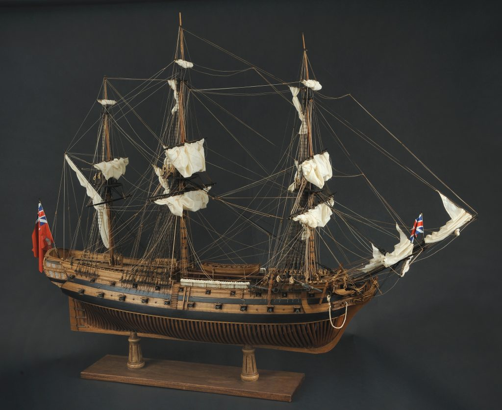 Model of HMS Roebuck, W. M. Brown, ca. 1834