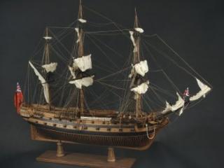 Model of HMS Roebuck, W. M. Brown, ca. 1834