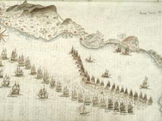 """""""Journal de la Campagne que j'ai fair sur le Vaisseau Le Souverain commande par Monsieur le Commandant De Gandeves en 1780,"""" ca. 1780-1783"""
