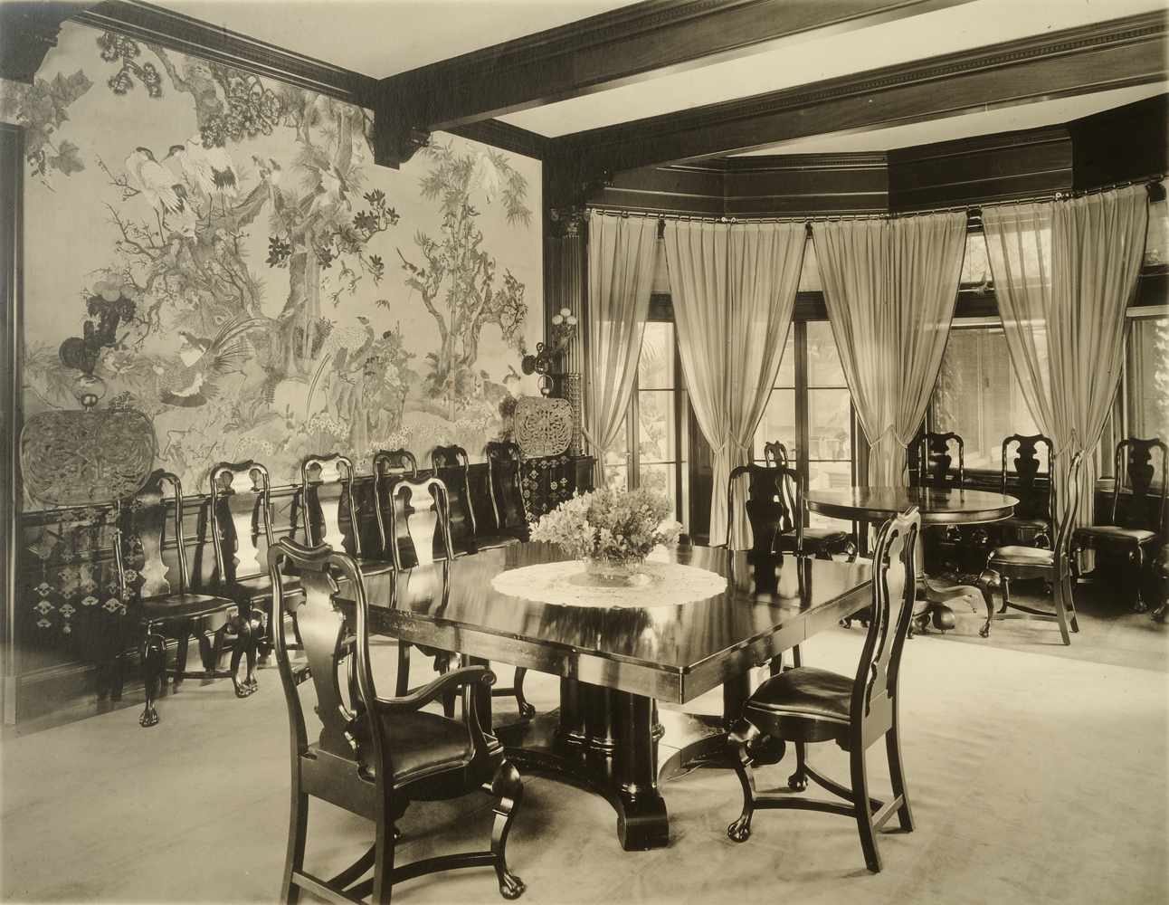 Dining Room at Weld by Thomas E. Marr, 1905