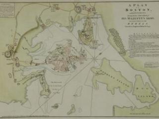 1 A Plan of Boston, 1776