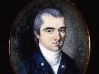 Barnabas Binney portrait miniature, ca. 1779-1783