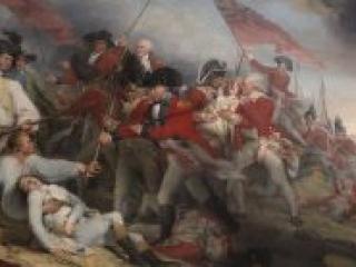4 The Death of General Warren at Bunker's Hill, June 17, 1775 by John Trumbull