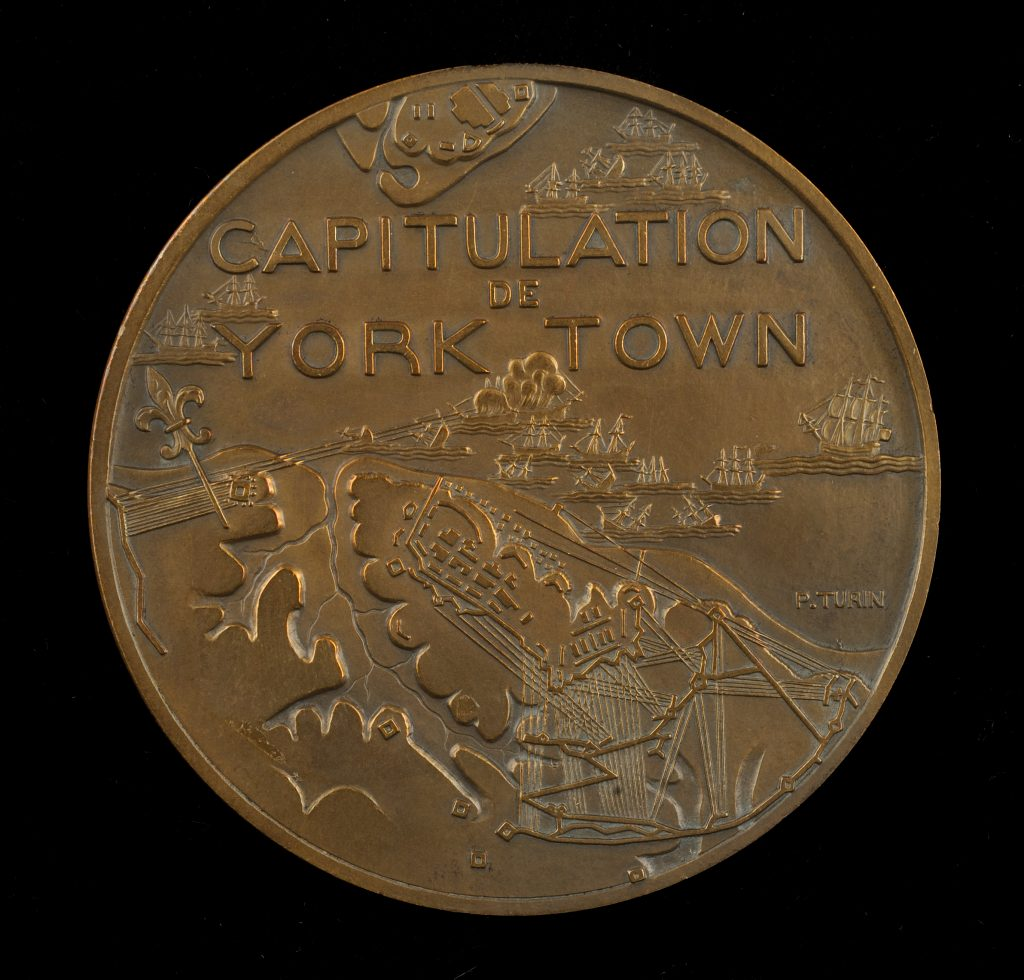 Capitulation of Yorktown medal, 1931
