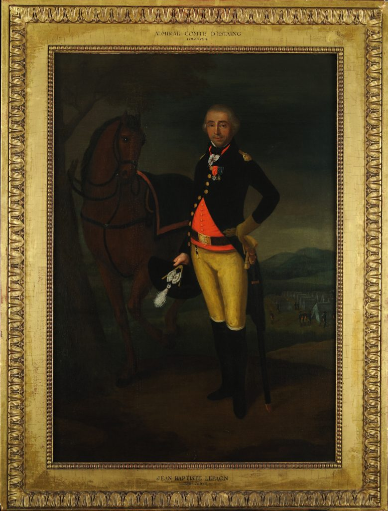 Comte d'Estaing by Le Paon, ca. 1785