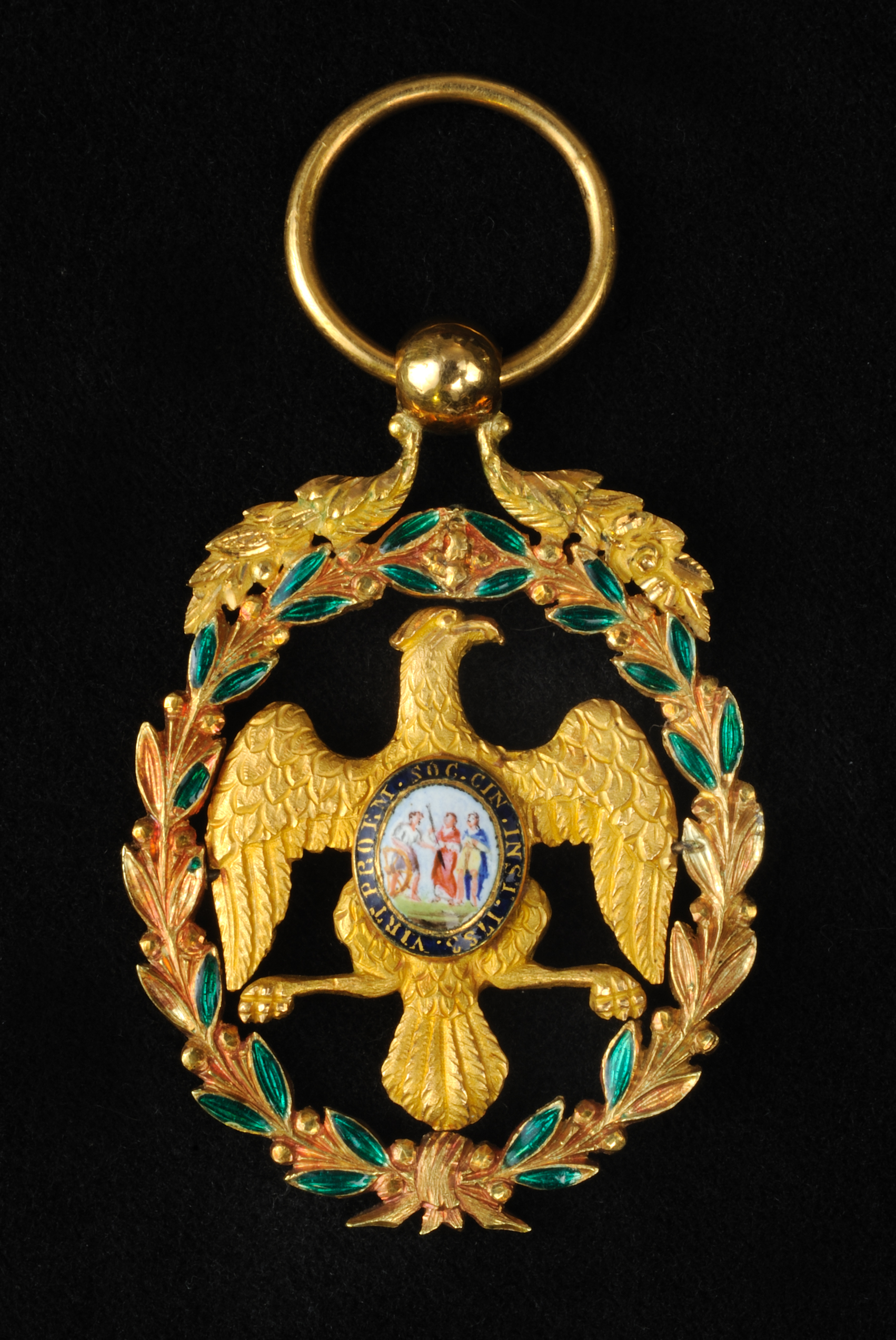 Replica Lafayette Society of the Cincinnati insignia, ca. 1830-1832