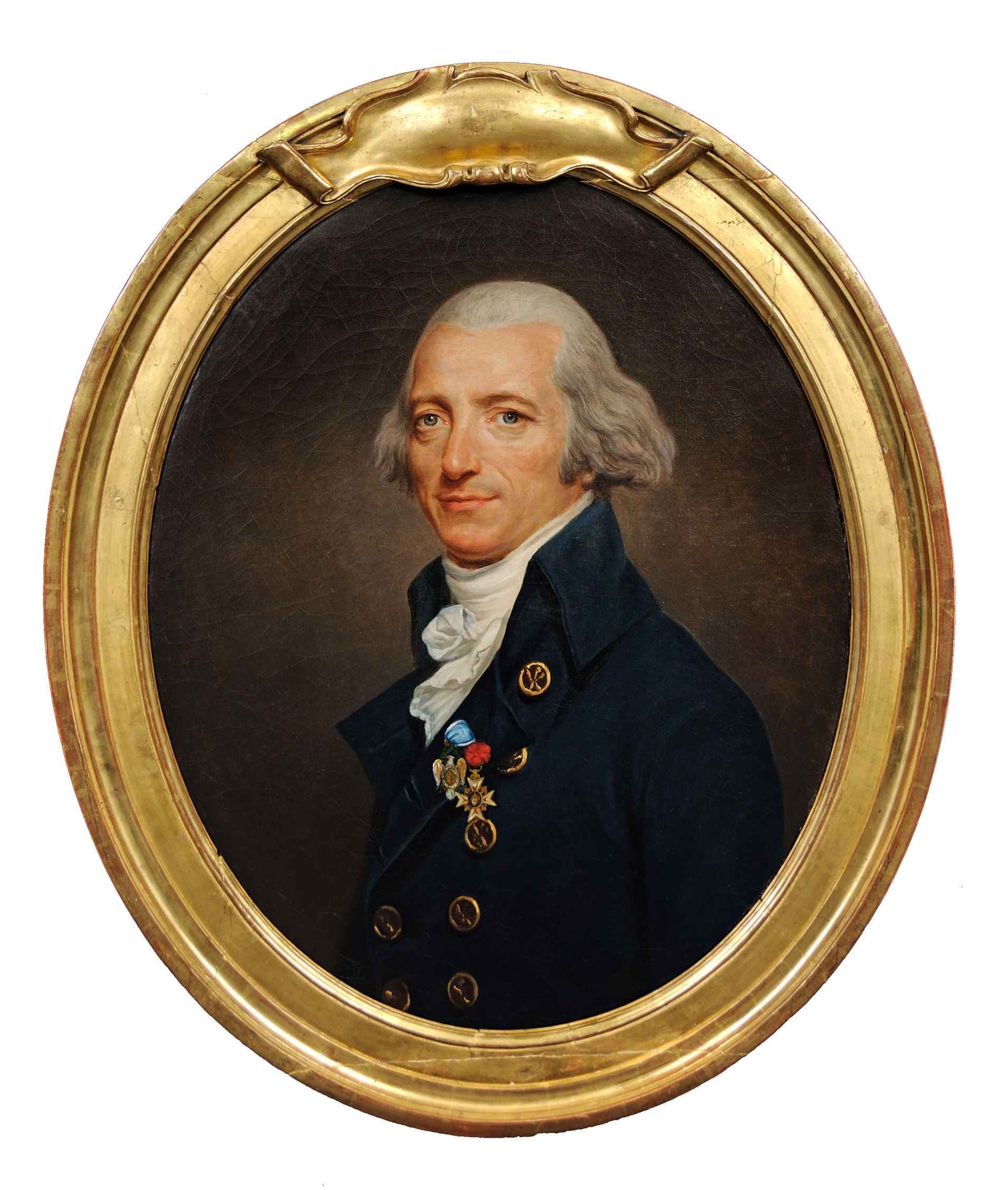 Gaultier de Murnan attributed to Joseph Boze ca. 1791-1796, framed