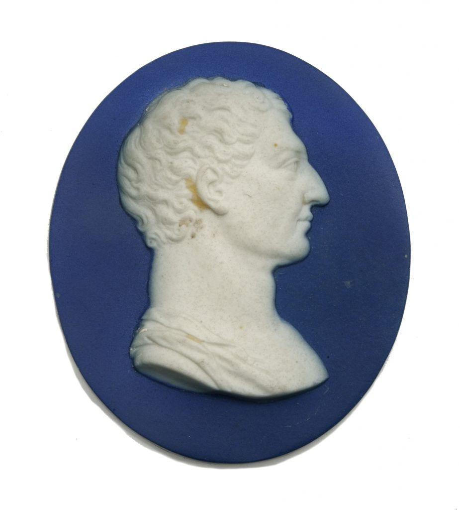 George Washington portrait medallion by Wedgwood & Bentley, ca. 1777