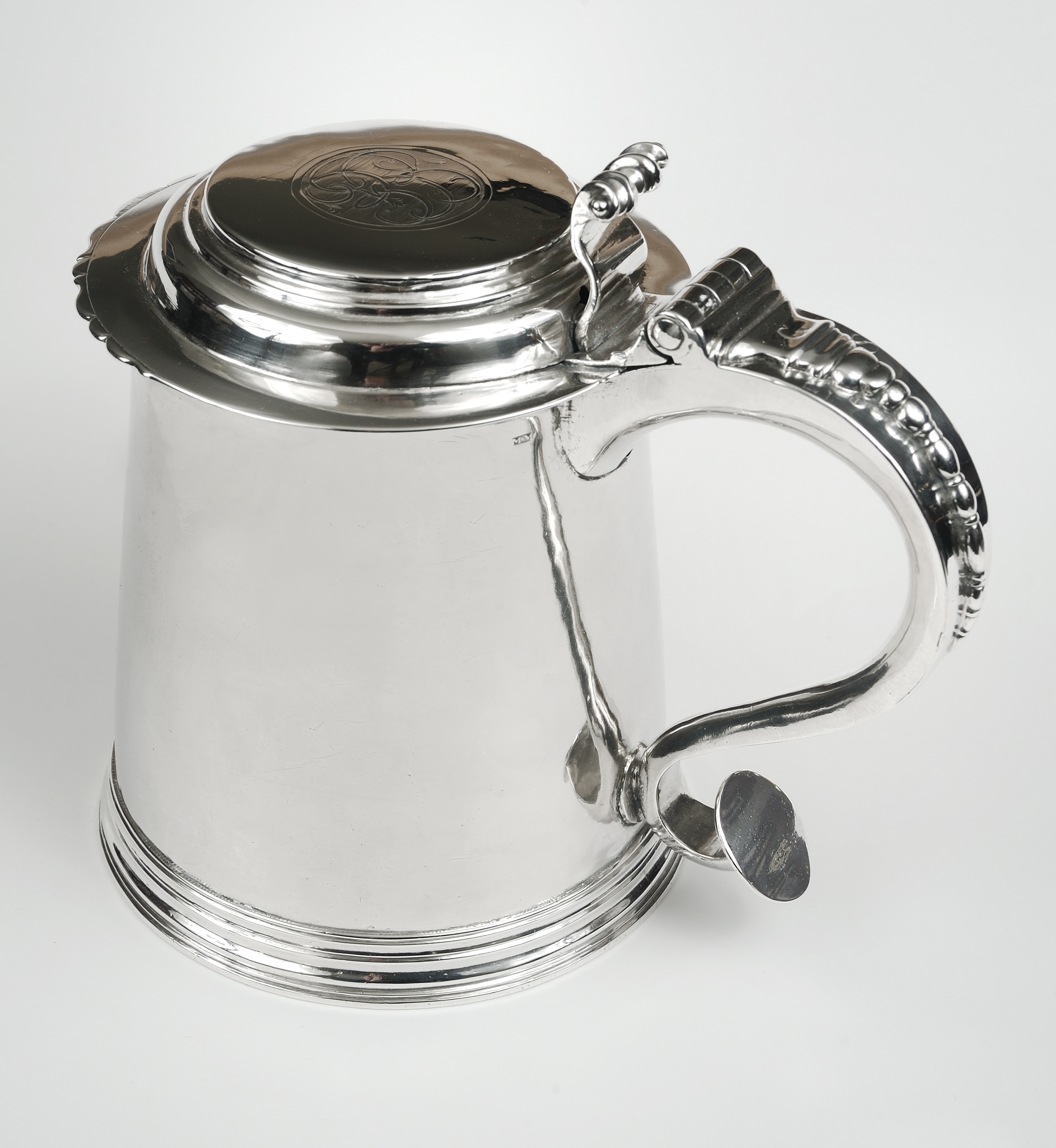 Tankard owned by Ennis Graham, ca. 1747-1763