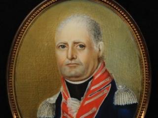 Jacob Kingsbury portrait miniature, ca. 1802-1804