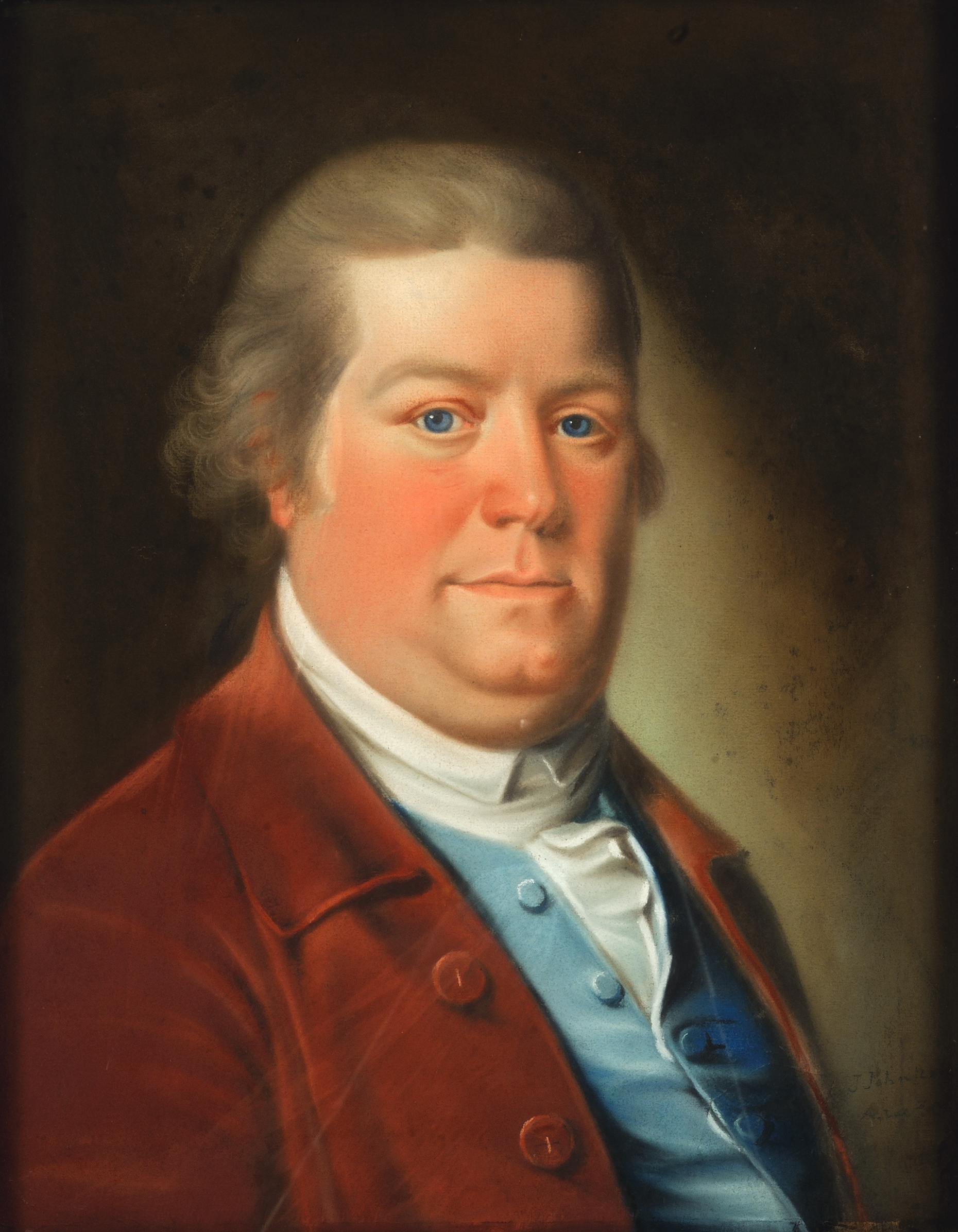 John Johnston self-portrait, 1783