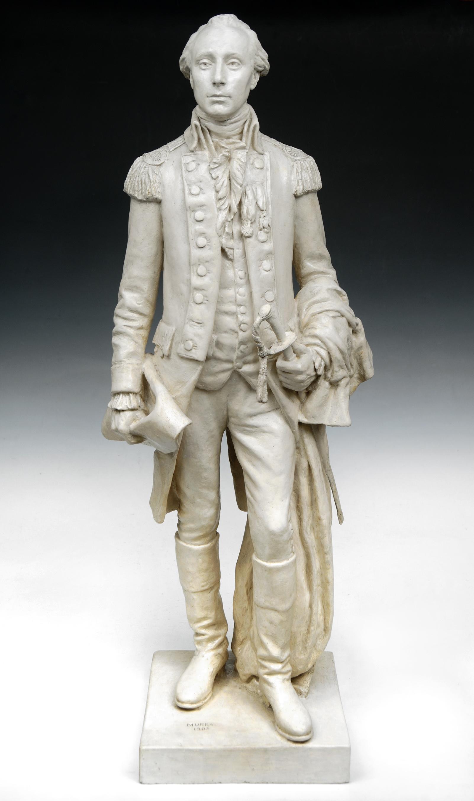 Lafayette statuette by Murray, 1905