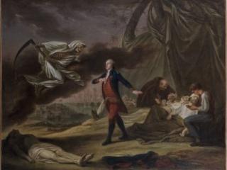Lenormand allegorical portrait by Jollain, 1783