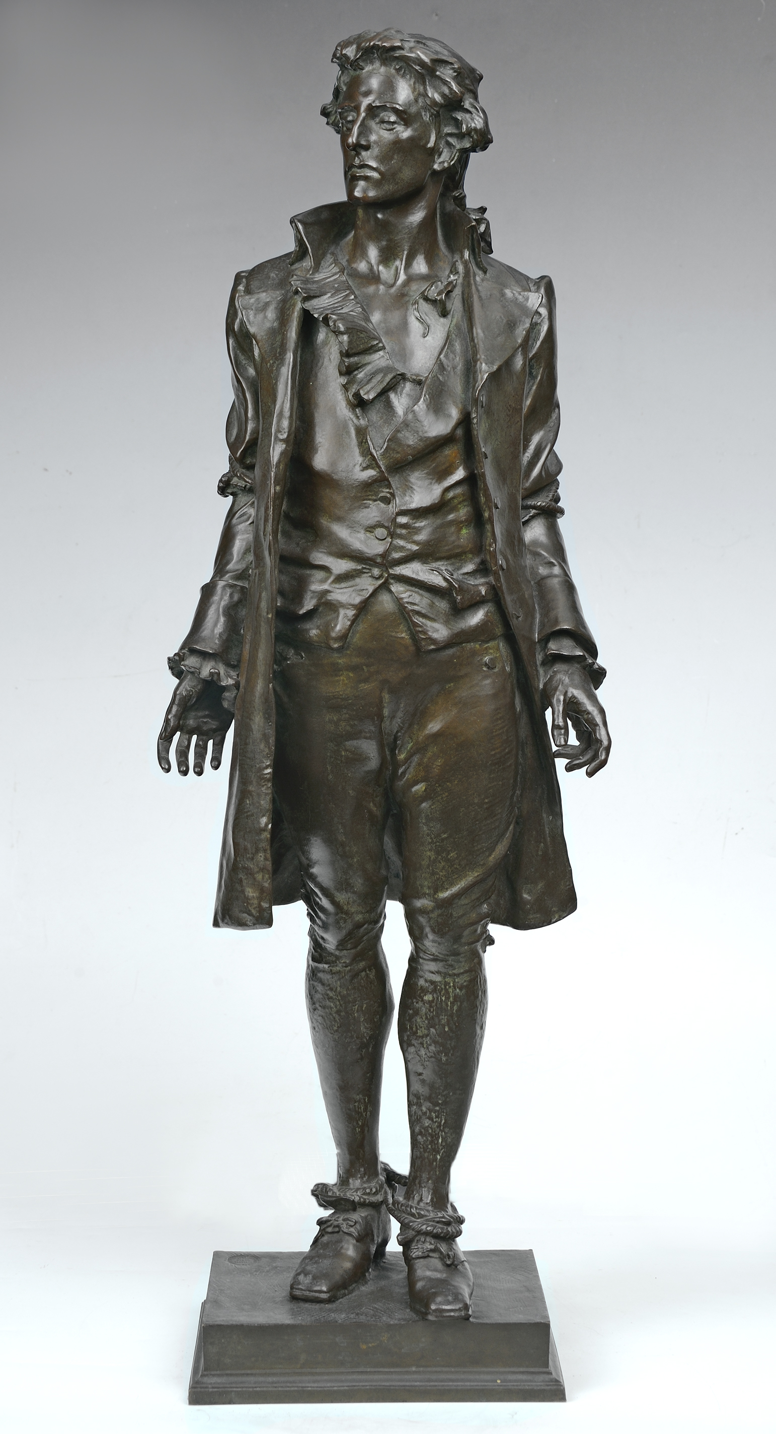 Nathan Hale statue by MacMonnies, ca. 1901-1917