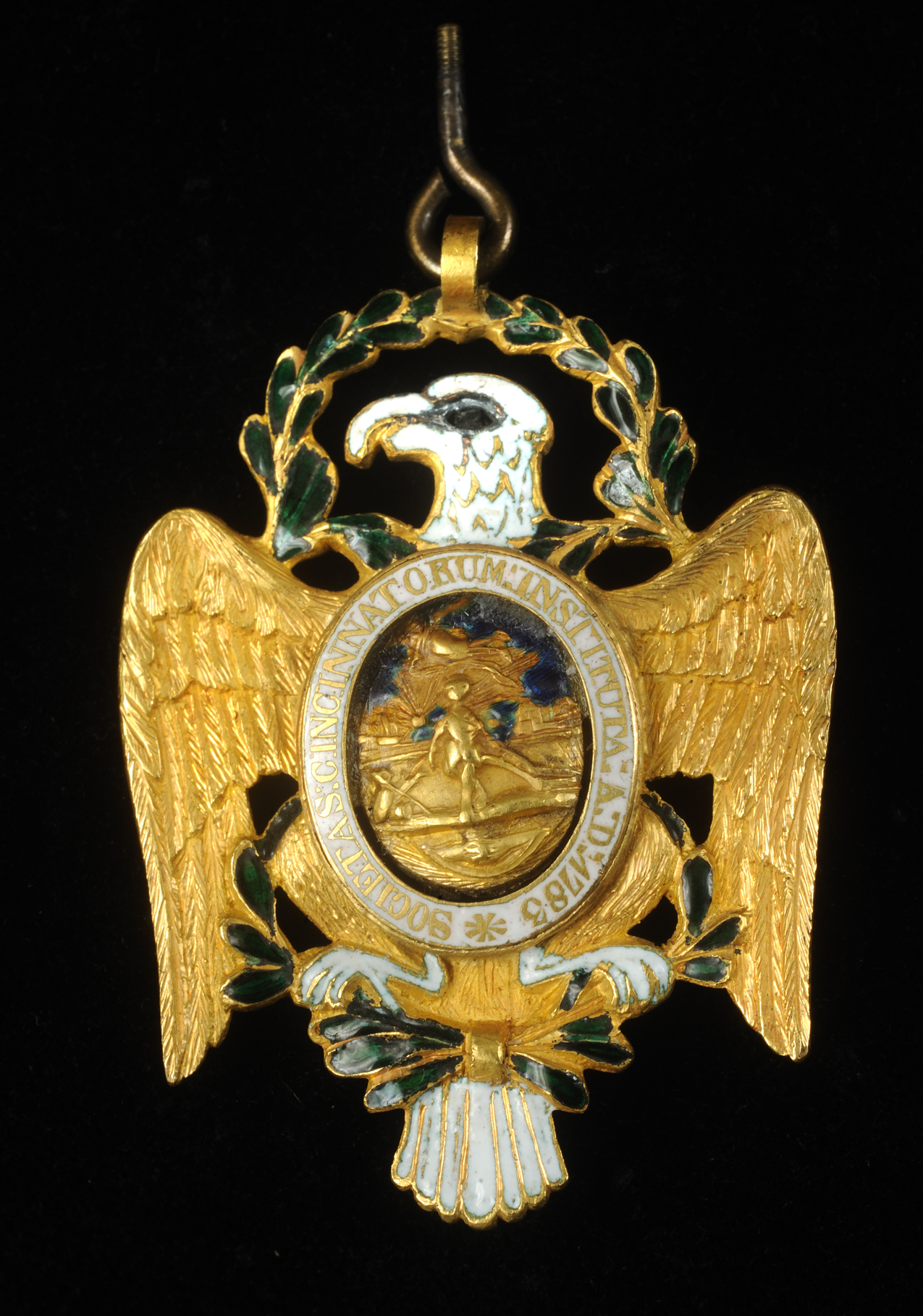 Anderson Society of the Cincinnati insignia, ca. 1790