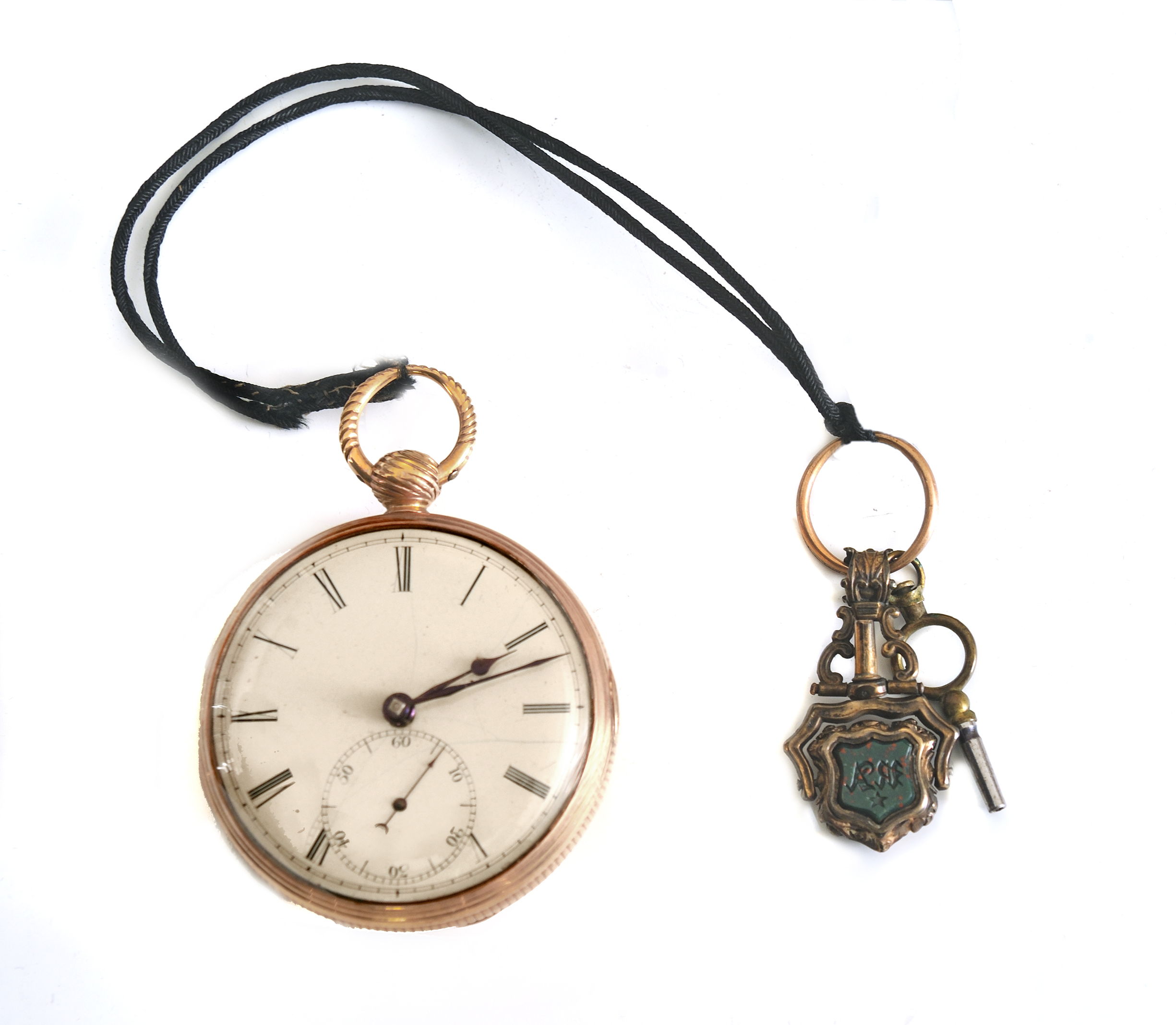 Pocket watch owned by Richard Clough Anderson, 1776