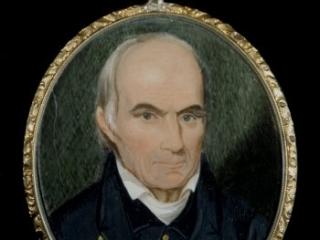 Samuel Ashe portrait miniature, early 19th century