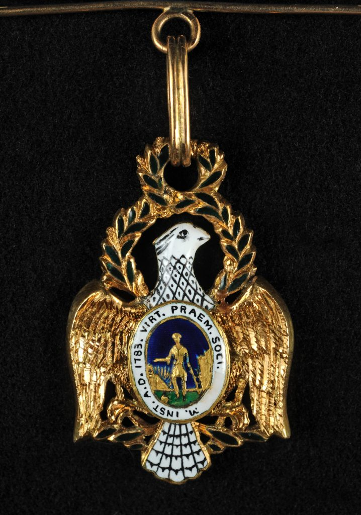 Society of the Cincinnati insignia, ca. 1795-1820
