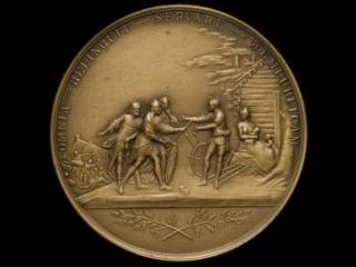 Society of the Cincinnati medal designed by L'Enfant, 1914