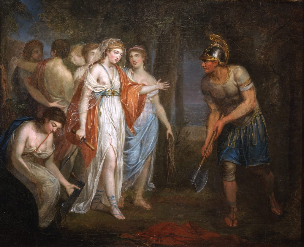 The Return of Cincinnatus attributed to Angelica Kauffmann, ca. 1775