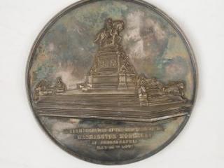Washington Monument in Philadelphia medal, 1897