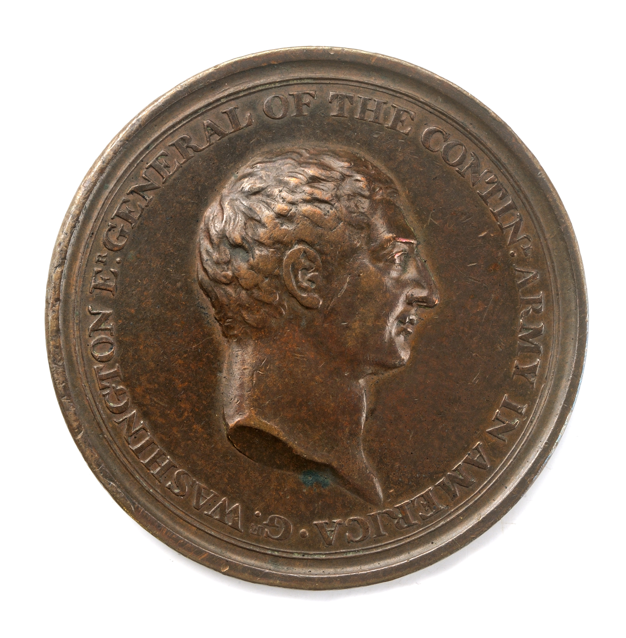 Voltaire medal, 1778