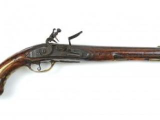 Hessian dragoon pistol, ca. 1755-1770
